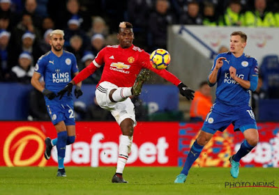Manchester United s'impose à Leicester 1-2