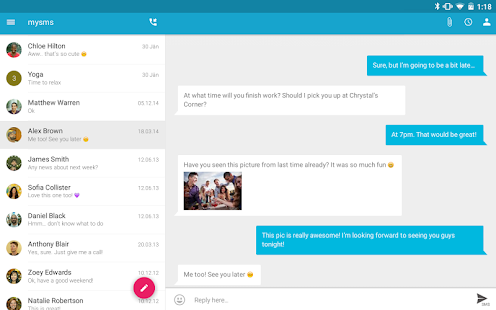 SMS Texting from Tablet & Sync- screenshot thumbnail