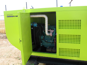 Photo: Generator Volvo 94 kva, Santier Tunari, Bucuresti