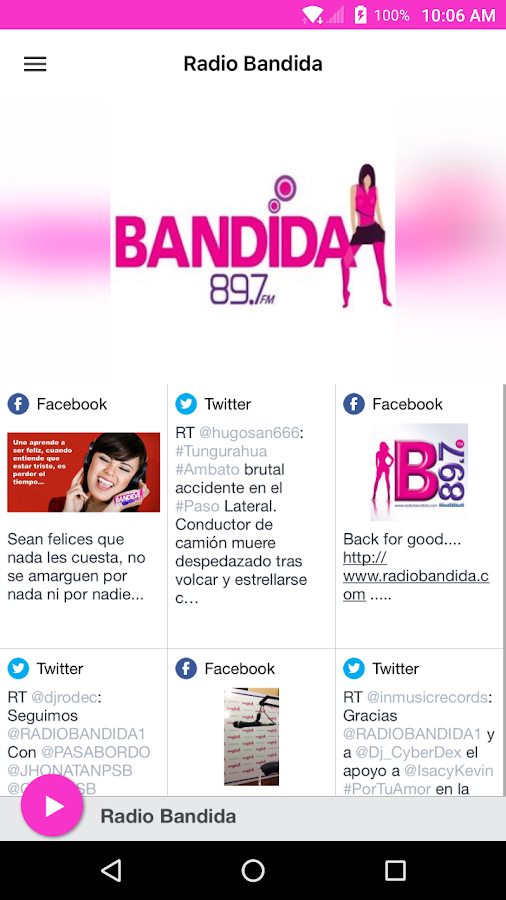 Radio Bandida- screenshot