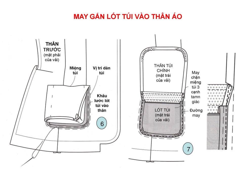 Bảng Size Thông Số Chuẩn Áo VEST NAM-NỮ Và Hướng Dẫn Cách Ráp Áo VEST 13