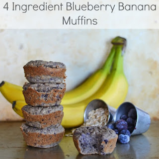 Improving My Immune Support & 4 Ingredient Blueberry Banana Muffins Recipe