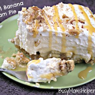 Caramel Banana Cream Pie.