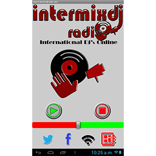 intermixdj radio- screenshot