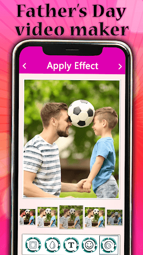 Father's day Video Maker with Song 2020 screenshot 3