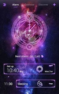 Pisces GO Clock Theme - náhled