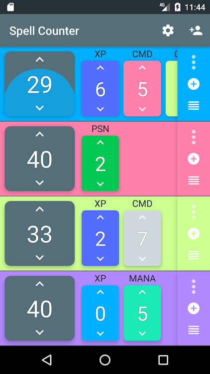 Spell Counter – MTG Life and Counter Tracker – (Android