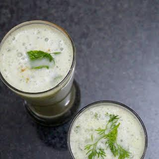 Masala Chaas Recipe or Masala Buttermilk.