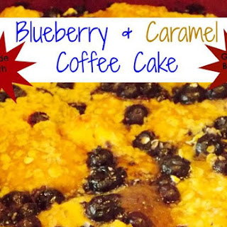 Grands! Biscuits… Blueberry & Caramel Coffee Cake