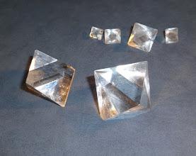 Photo: Potassium alum crystals