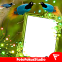 Blue Bird of Paradise Insta DP icon