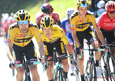 Tom Dumoulin en Primoz Roglic blikken vooruit naar eerste aankomst bergop in de Tour