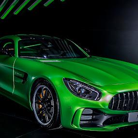 Mercedes AMG GT R by Boris Podlipnik - Transportation Automobiles ( automobiles, car, green, automobile, mercedes )