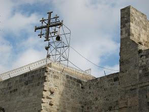 Photo: Jerusalem Cross on the Church of the Nativity