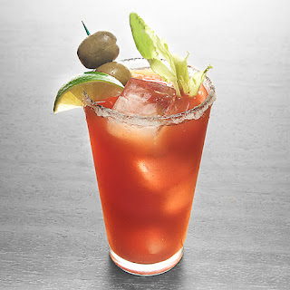 Basil Hayden's Bloody Mary.