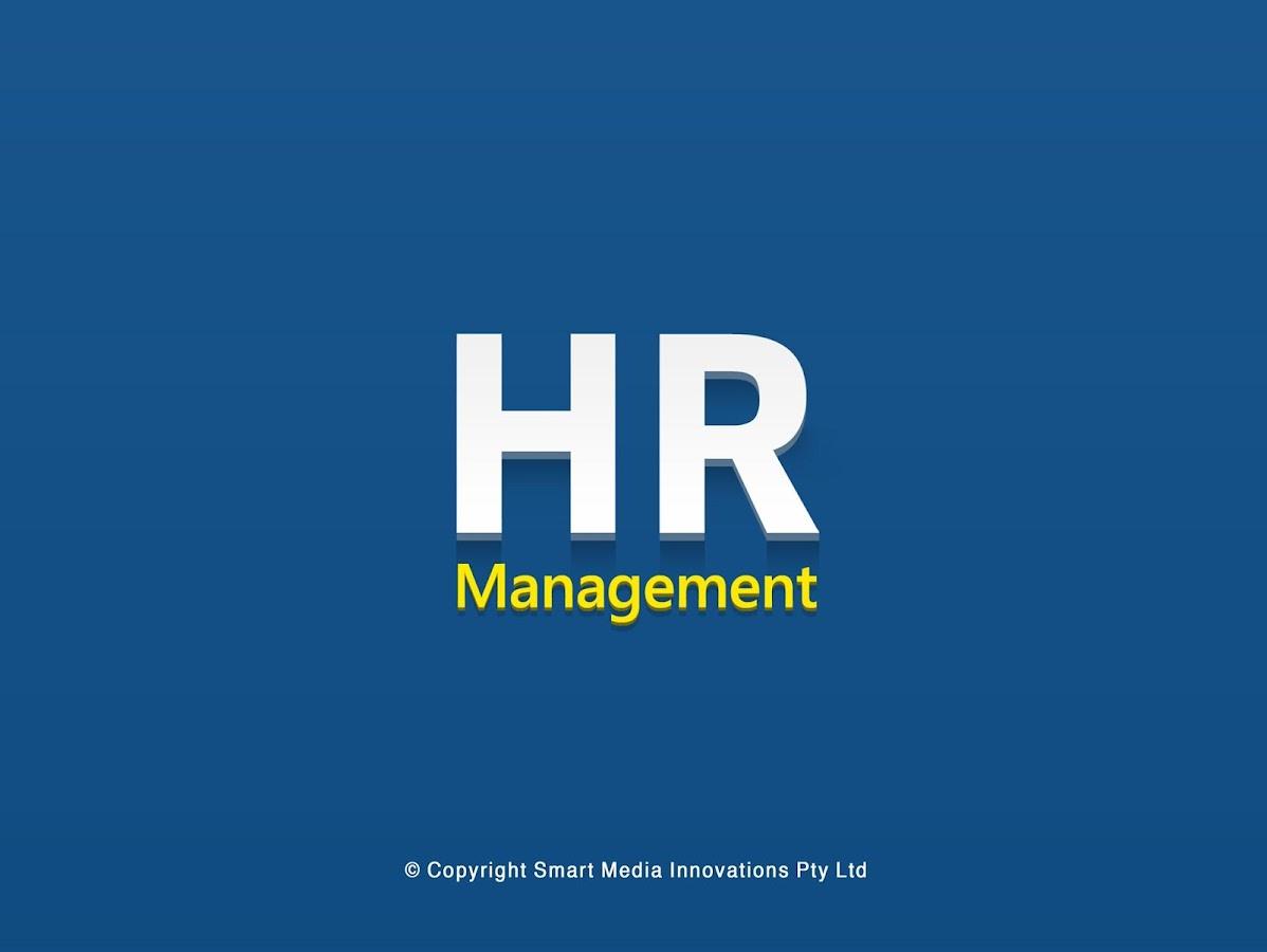 HR Management - screenshot