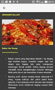 Resep Masakan Daging Nusantara - náhled