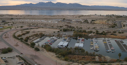 Photo: LOTS of marina boat docks