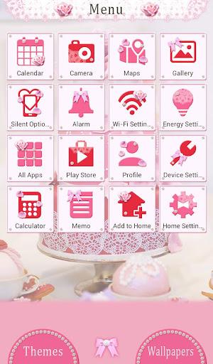 Happy Wallpaper Pink Wedding Cake Theme 1.0.0 Windows u7528 2