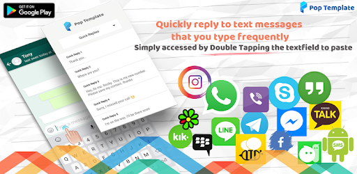Quickly Reply to text messages that you type frequently