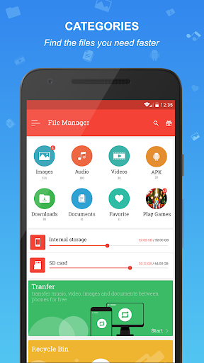 File manager 3.3 screenshots 1