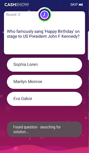 Cash Show Help - Trivia Assistant screenshot 3