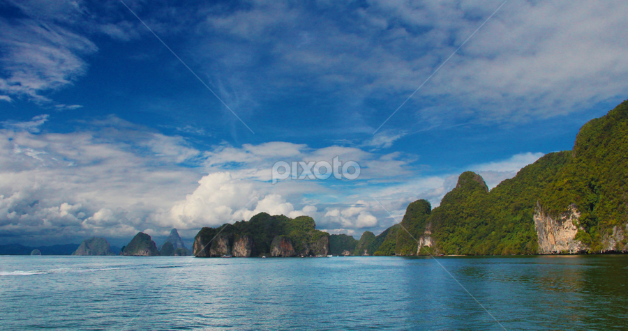Pha Nga Bay by Sofarianty Agustin - Landscapes Travel