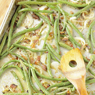 Roasted Green Beans With Bacon Recipes.