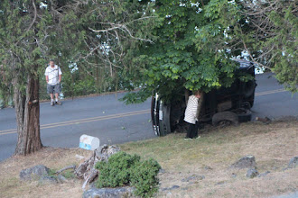 Photo: Early one morning (that's the driver, standing there in the t-shirt)
