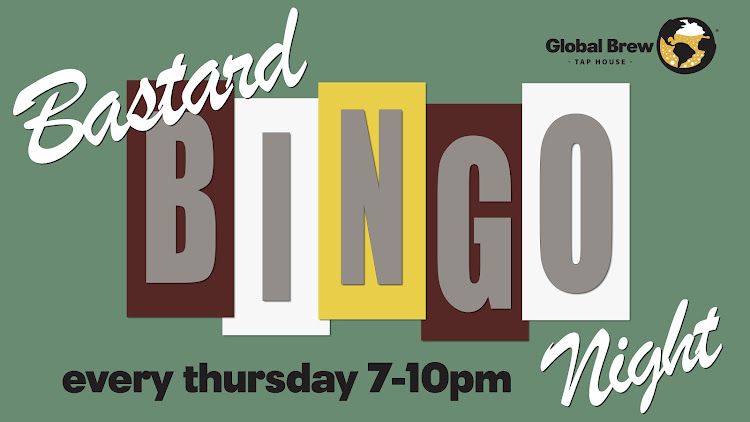 Logo for Bastard Bingo Night @ Global Brew Tap House (Edwardsville)