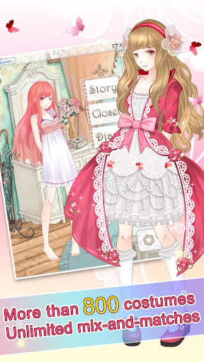 nikki up2u: a dressing story screenshot 2