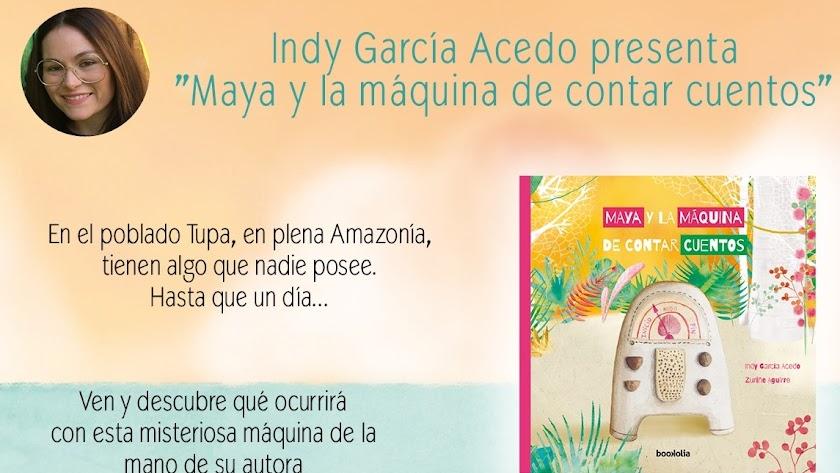 Cartel de promoción de Indy García.