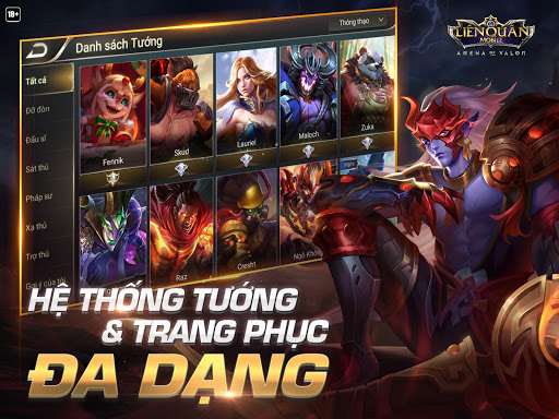 Garena Liu00ean Quu00e2n Mobile 1.20.1.1 screenshots 10