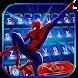 最新版、クールな Spider Man Spiderverse のテーマキーボード