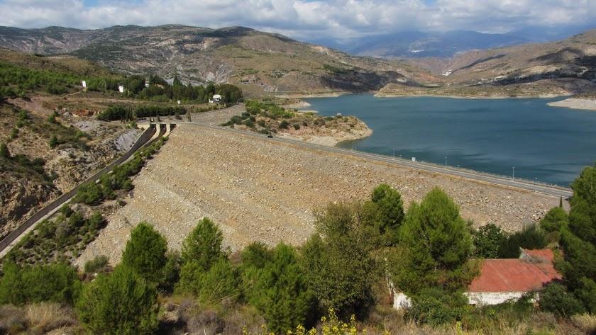 El pantano de Benínar, uno de los recursos hídricos de la provincia.