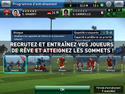 PES CLUB MANAGER Capture d'écran