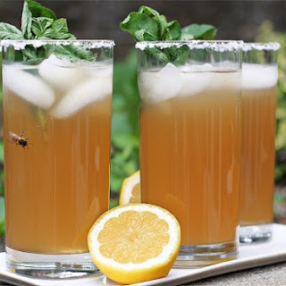 Iced Tea with Ginger and Mint