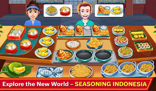 Indian Cooking Madness - Restaurant Cooking Games apkmr screenshots 1