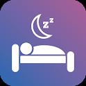 Soothing sleep sounds icon