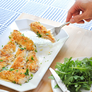 Easy Baked Chicken Cutlets.