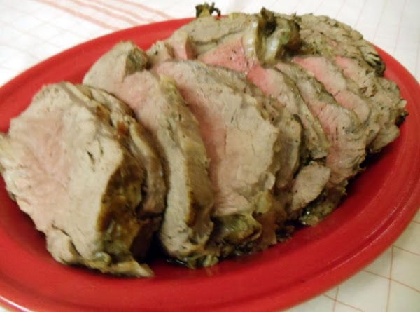 Set meat on platter as you prepare the au jus.  Strain off fat....