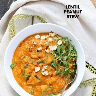 African Peanut Lentil Soup