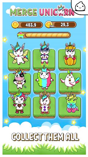 Mergeu00a0Unicornu00a0- Kawaii Idle Evolution Clicker Game 1.23 {cheat|hack|gameplay|apk mod|resources generator} 3