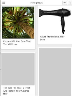 Hair Blog- screenshot thumbnail