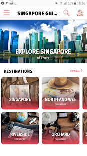 ✈ Singapore Travel Guide Offline - náhled