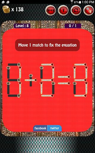 Diamond Matches Puzzle