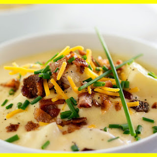 Creamy Loaded Baked-Potato Soup