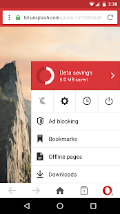 Browser Opera Mini- miniatura screenshot