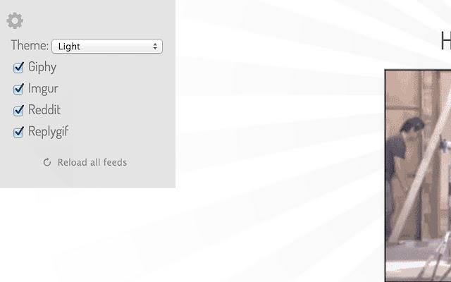 عرض صور gif على جوجل كروم
