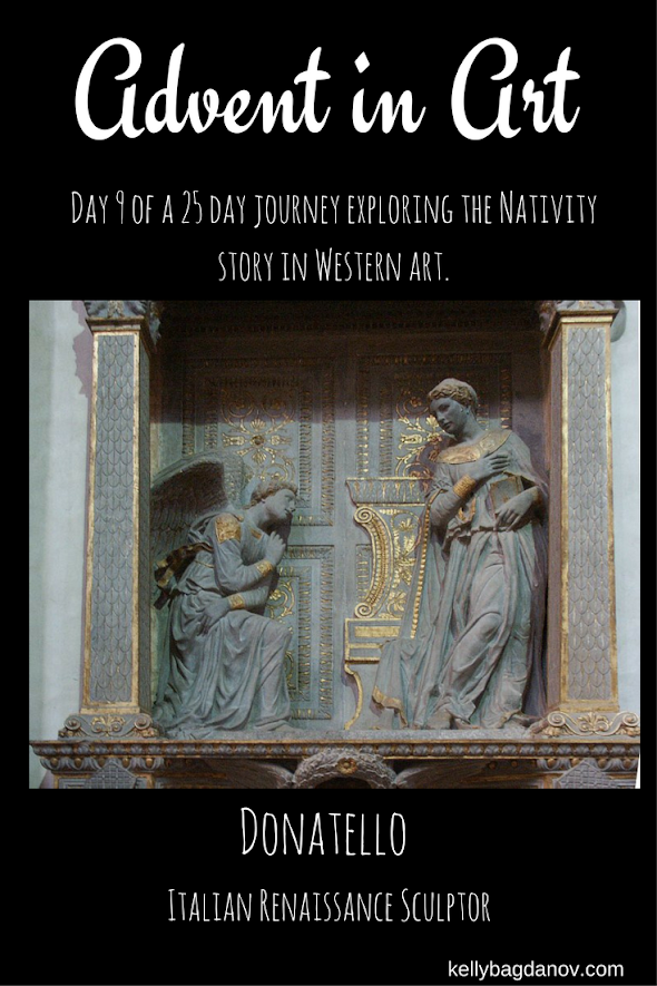 Article on Donatello and The Annunciation at Santa Croce